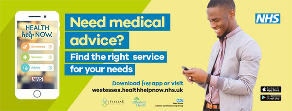 Need medical advice? Find the right service for your needs. Download free app or visit westessex.healthhelpnow.nhs.uk